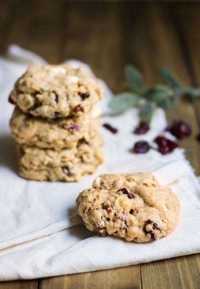 Oatmeal With Cranberries Cookies