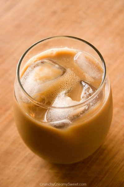 Iced Coffee, Sweet & Creamy
