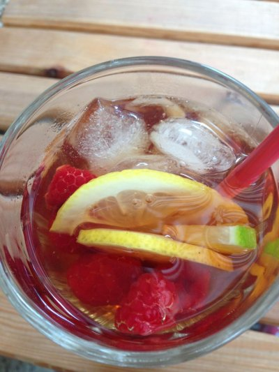 Thirst Quenchers Raspberry Ice,Sugar Free Drink Mix Sticks