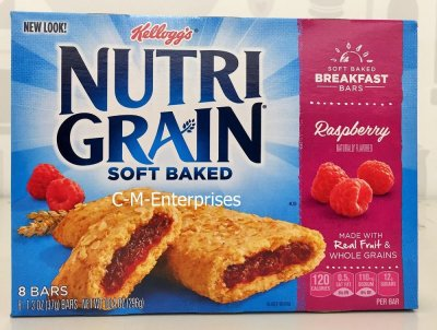 Cereal Bars, Raspberry