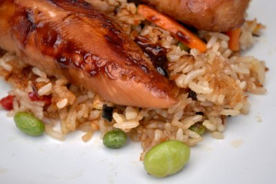 Rice Meal, Chicken Teriyaki Flavor