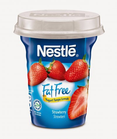 Yogurt, Fat Free, Strawberry