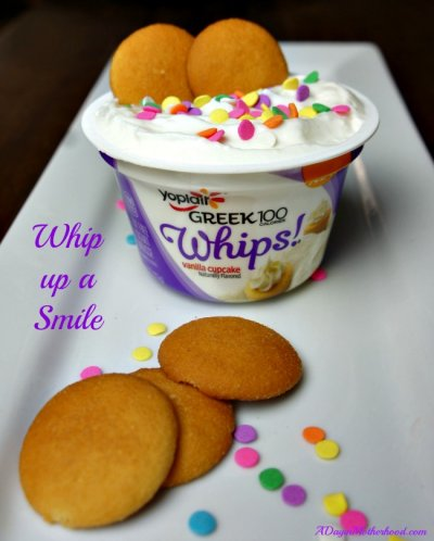 Greek 100 Calories, Whips, Fat Free Yogurt, Vanilla Cupcake Naturally Flavored