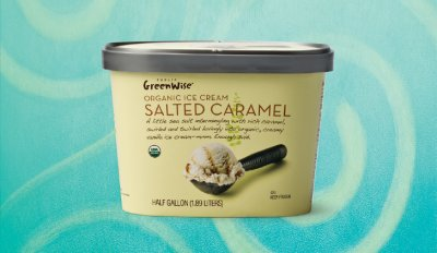 Greenwise Organic Ice Cream, Salted Caramel