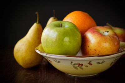 Fruit Bowl with winter fruit