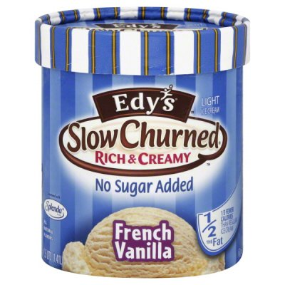 Ice Cream, Light, Extra Churned, French Vanilla