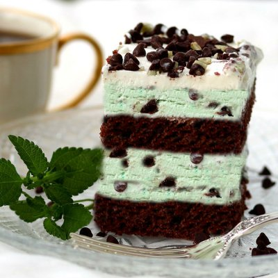 Mint Chocolate Chip, Ice Cream
