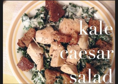 Original Recipe Chicken Caesar Salad (without dressing or croutons)