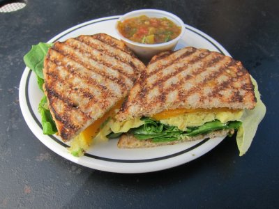 Power Panini Thin-Avocado & Spinach, Egg White