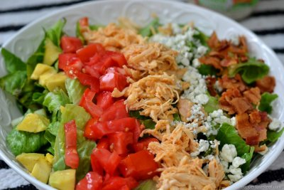 Aussie Chicken Cobb Salad, Grilled
