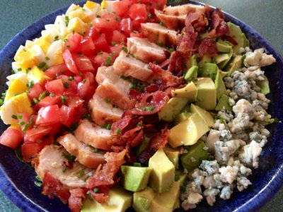 California Cobb Salad, Half with Ranch Dressing