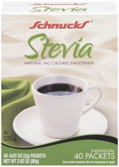 No Calorie Sweetener, Stevia 0.07 Oz Packets