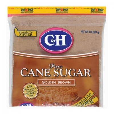 Pure Cane Sugar, Golden Brown