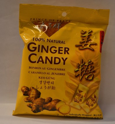 100% Natural Ginger Candy
