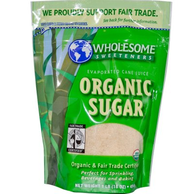Organic Sugar Evaporated Cane Juice