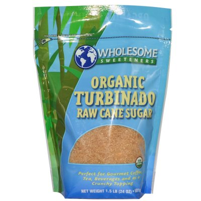 Organic Turbinado Raw Cane Sugar