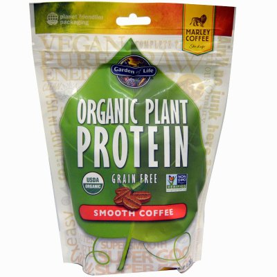 Organic Plant Protein, Grain Free, Smooth Coffee