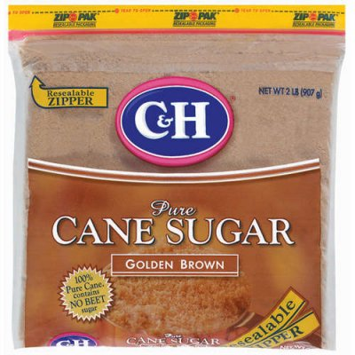 Pure Cane Sugar, Golden Light Brown