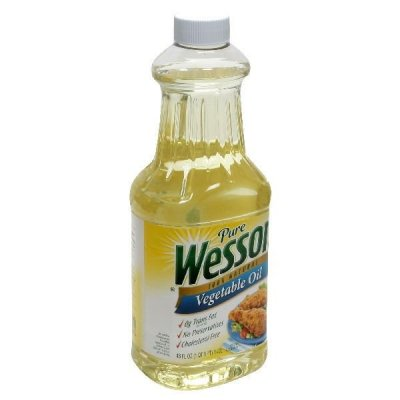 Vegetable Oil, 100% Pure