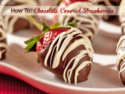 Strawberry Dipper Covered in Dark Chocolate Halves