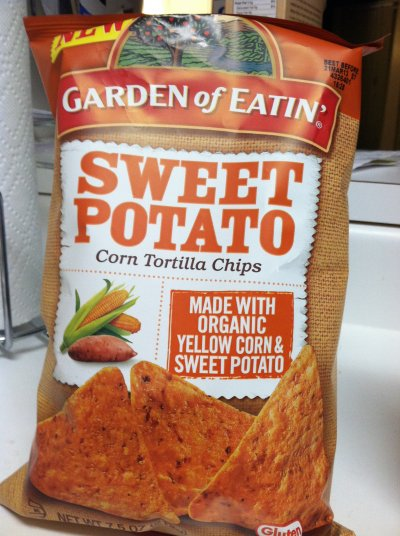 Organic Sweet Potato, Corn Tortilla Chips