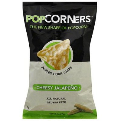 Popped Corn Chips, Cheesy Jalapeno