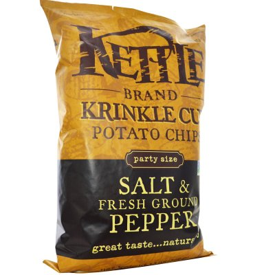 Krinkle Cut Chips, Salt & Fresh Ground Pepper