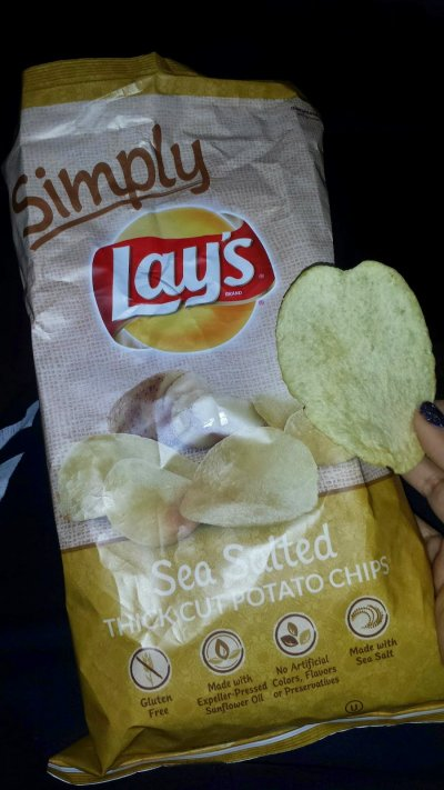 Sea Salted Thick Cut Potato Chips