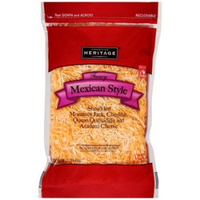 Cheese,Classic Mexican Fancy Shredded 4 Blend
