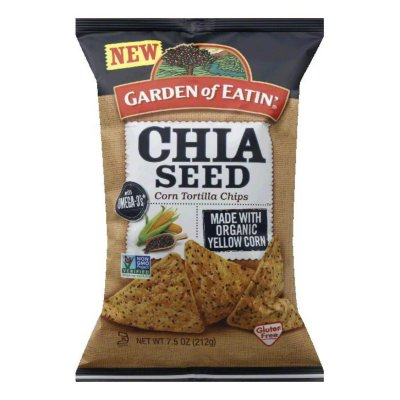 Chia Seed Corn Tortilla Chips