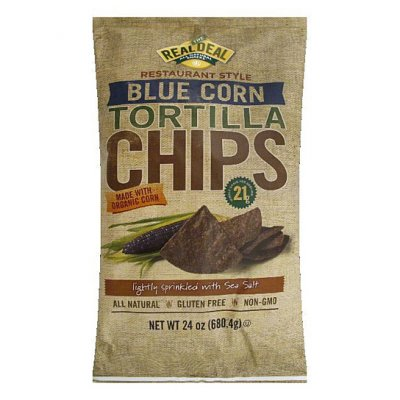 All Natural Tortilla Chips, Blue Corn