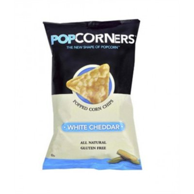 Corn Chips, Popped, White Cheddar
