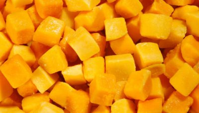 Diced Pineapples & Mangos