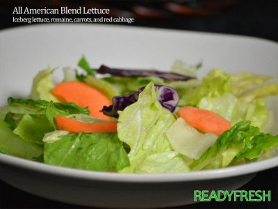 Lettuce, Premium Romaine with Carrots and Red Cabbage