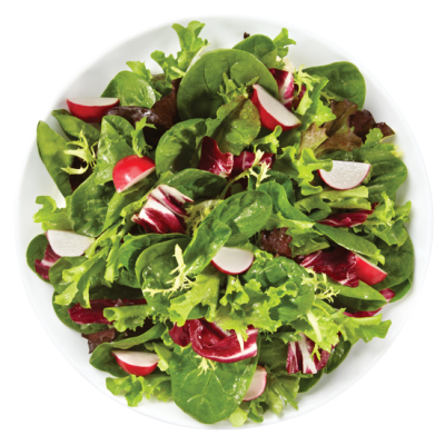 Spinach & Spring Mix Leaves