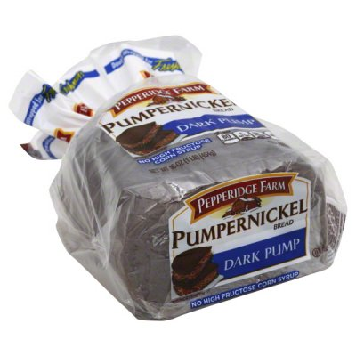 Bread, Dark Pump, Pumpernickel