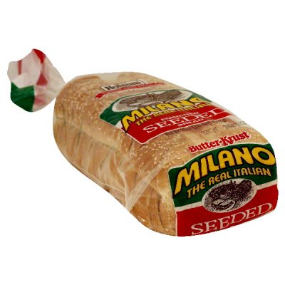 Bread, Enriched, Italian, Seeded