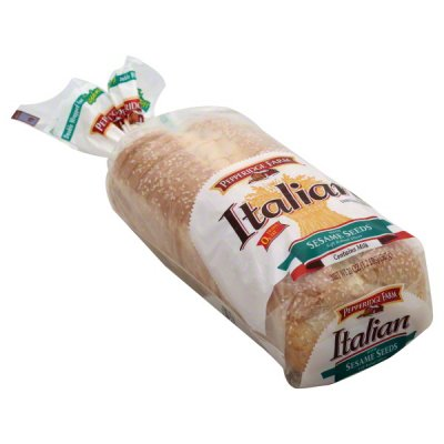 Italian Bread, Enriched, No Seeds