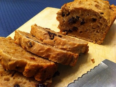 Raisin Cinnamon Bread with Vanilla