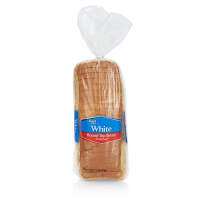 Round Top Enriched White Bread