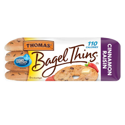 Bagel Thins, Cinnamon Raisin