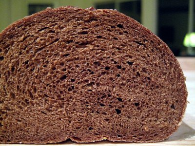 Bread, Dark Rye, Real Jewish Pumpernickel