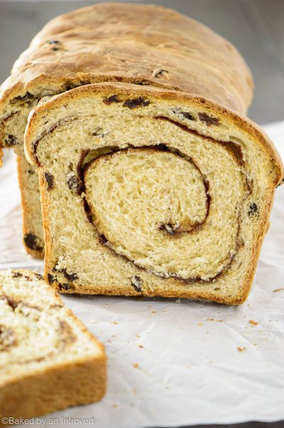 Cinnamon Raisin Soft Bread