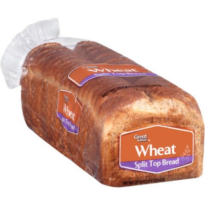 Wheat Split Top Bread