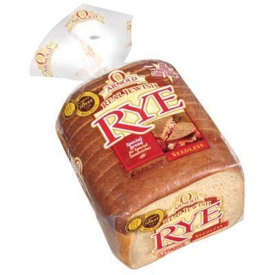 Bread, Special, Real Jewish Rye Seedless