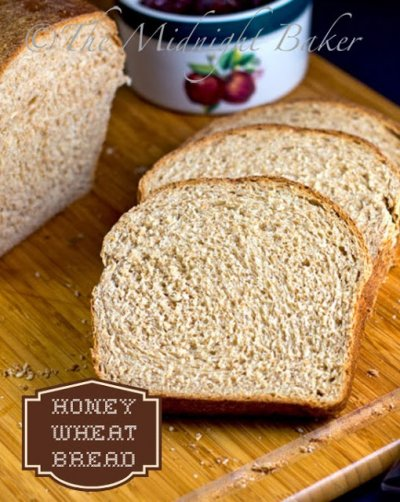 Honey Wheat Sliced Bread