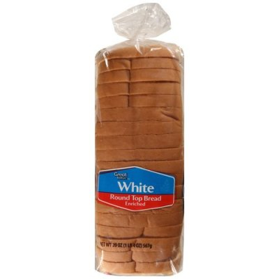 White Round Top Bread