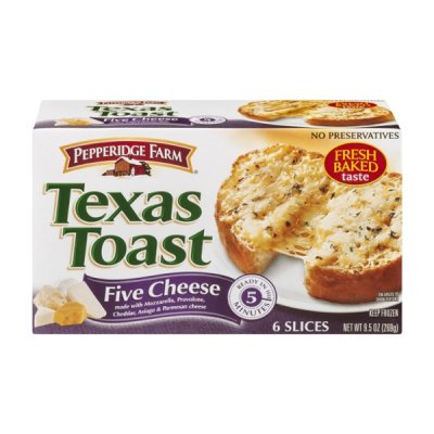 Five Cheese Texas Toast Bread
