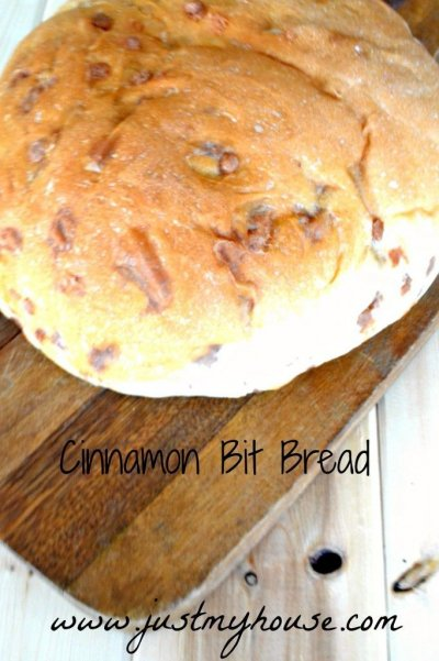 Bread, Cinnamon with Cinnamon Bursts