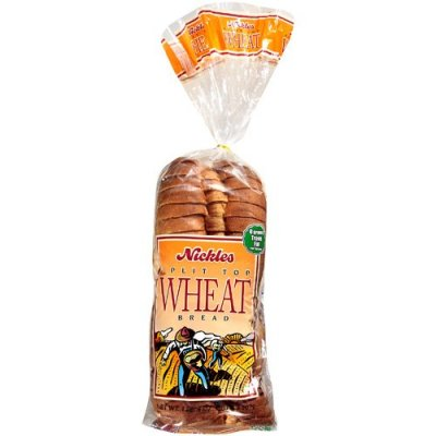 Honey Wheat Enriched Bread, Split Top